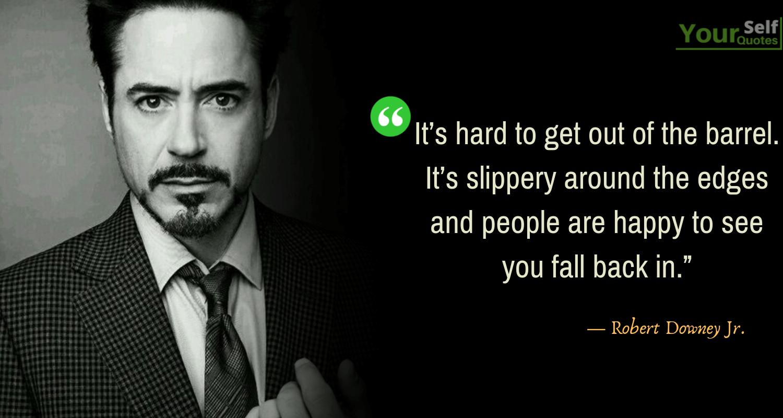 Robert Downey Jr Quotes Image