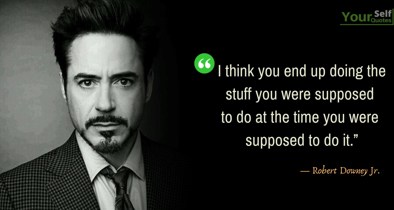 Robert Downey Jr Quotes1