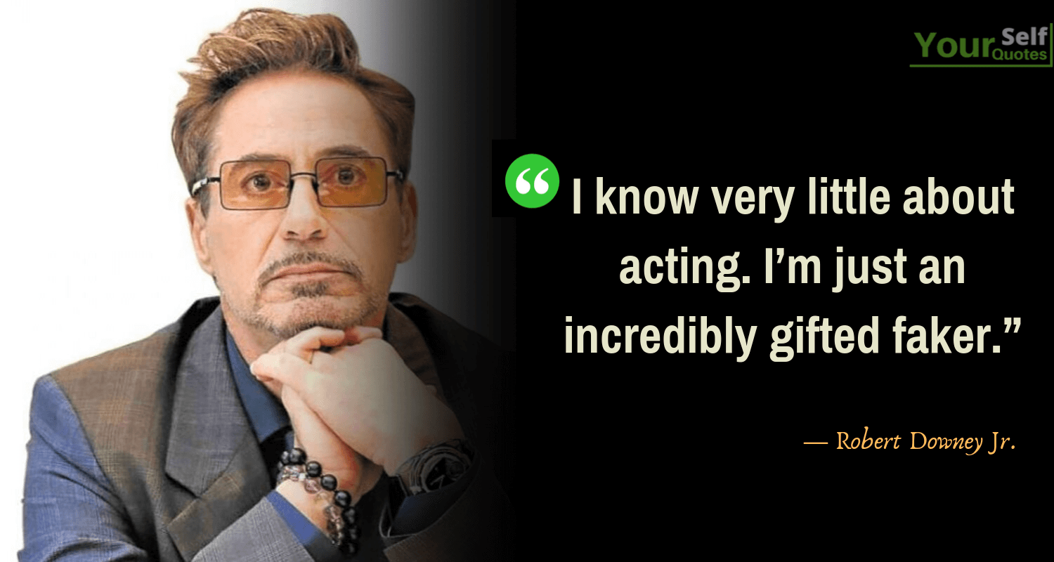 Quotes by Robert Downey Jr
