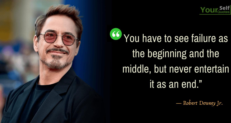 Robert Downey Jr.'s Best Quotes