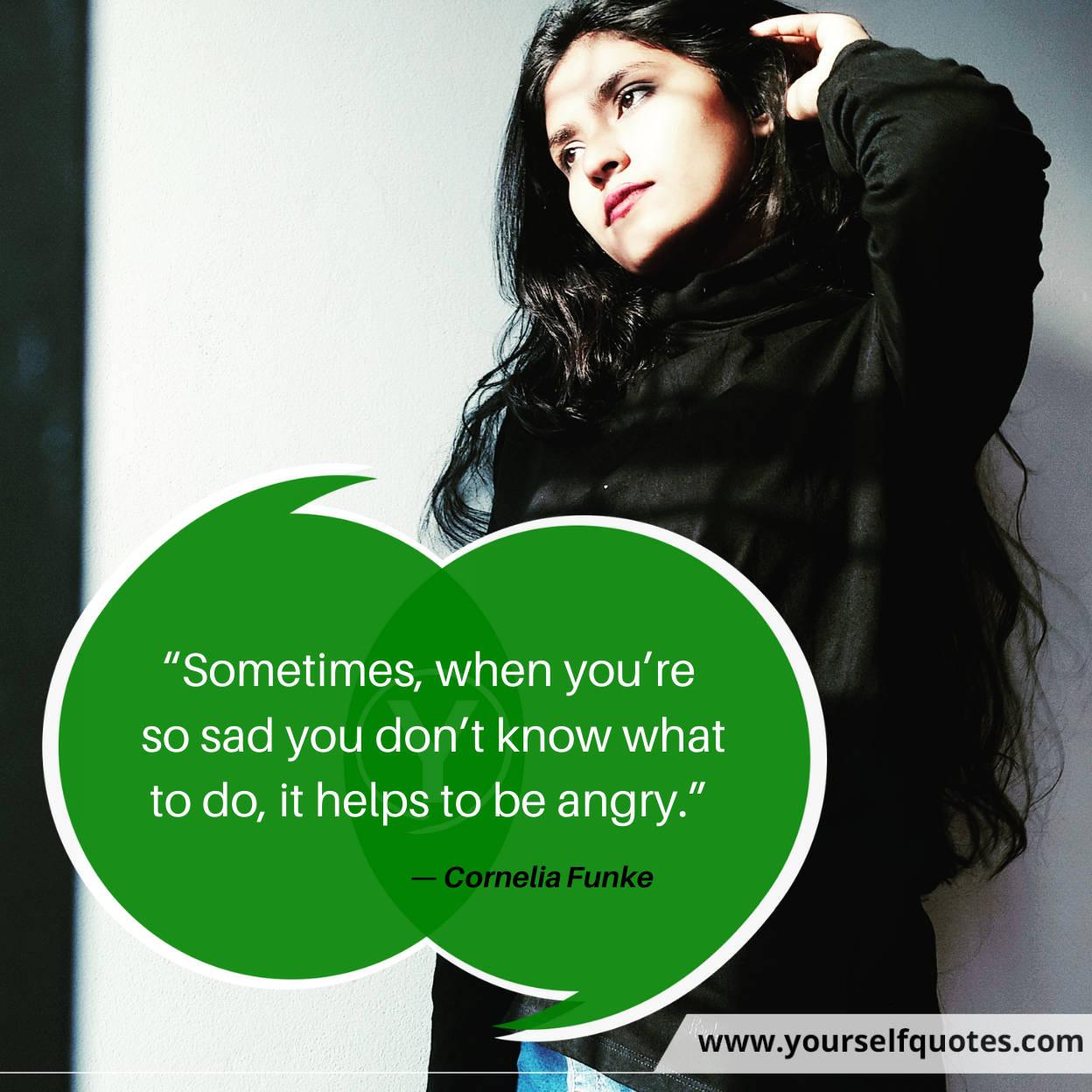 Sad Quotes by Cornelia Funke