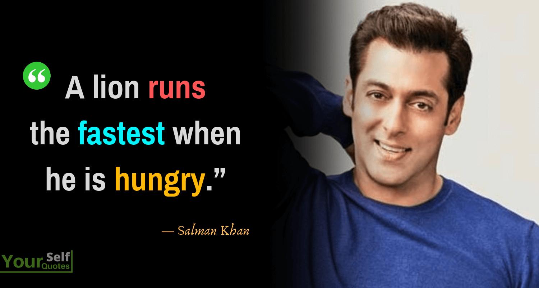 Salman Khan Quotes Images