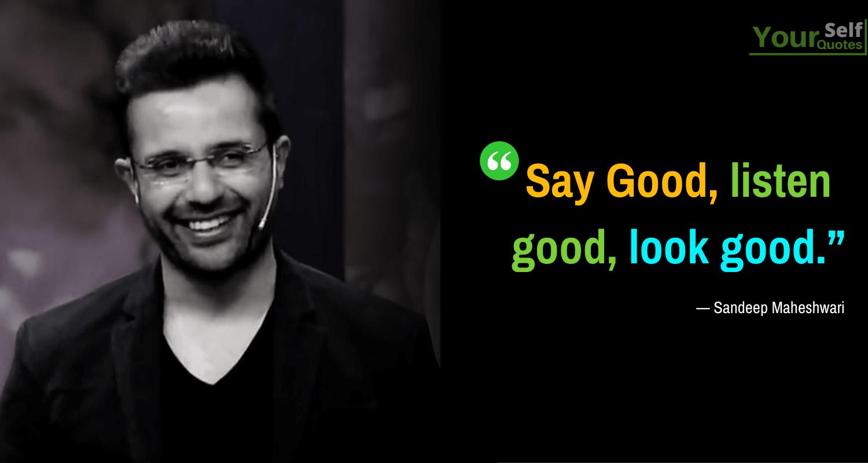 Sandeep Maheshwari Good Quotes Images