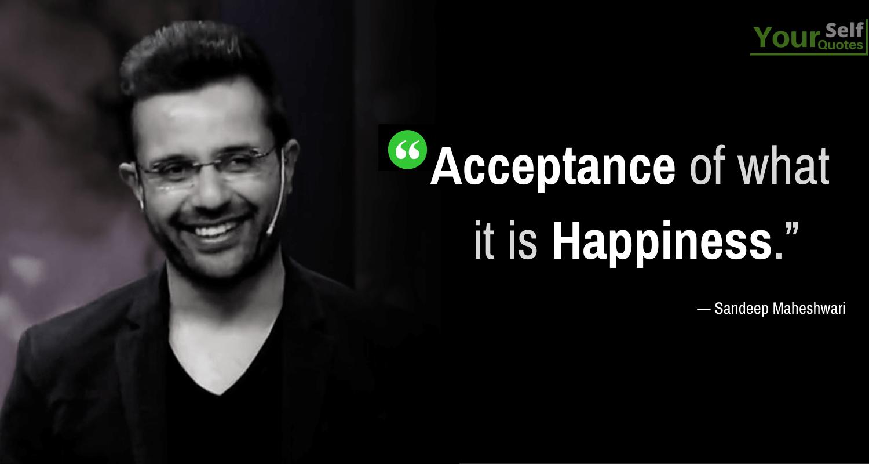 Sandeep Maheshwari Happiness Quotes