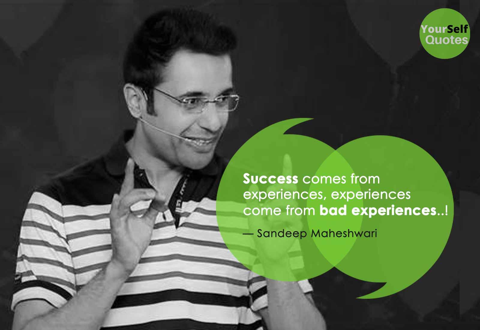 Success Quotes By Sandeep Maheshwari