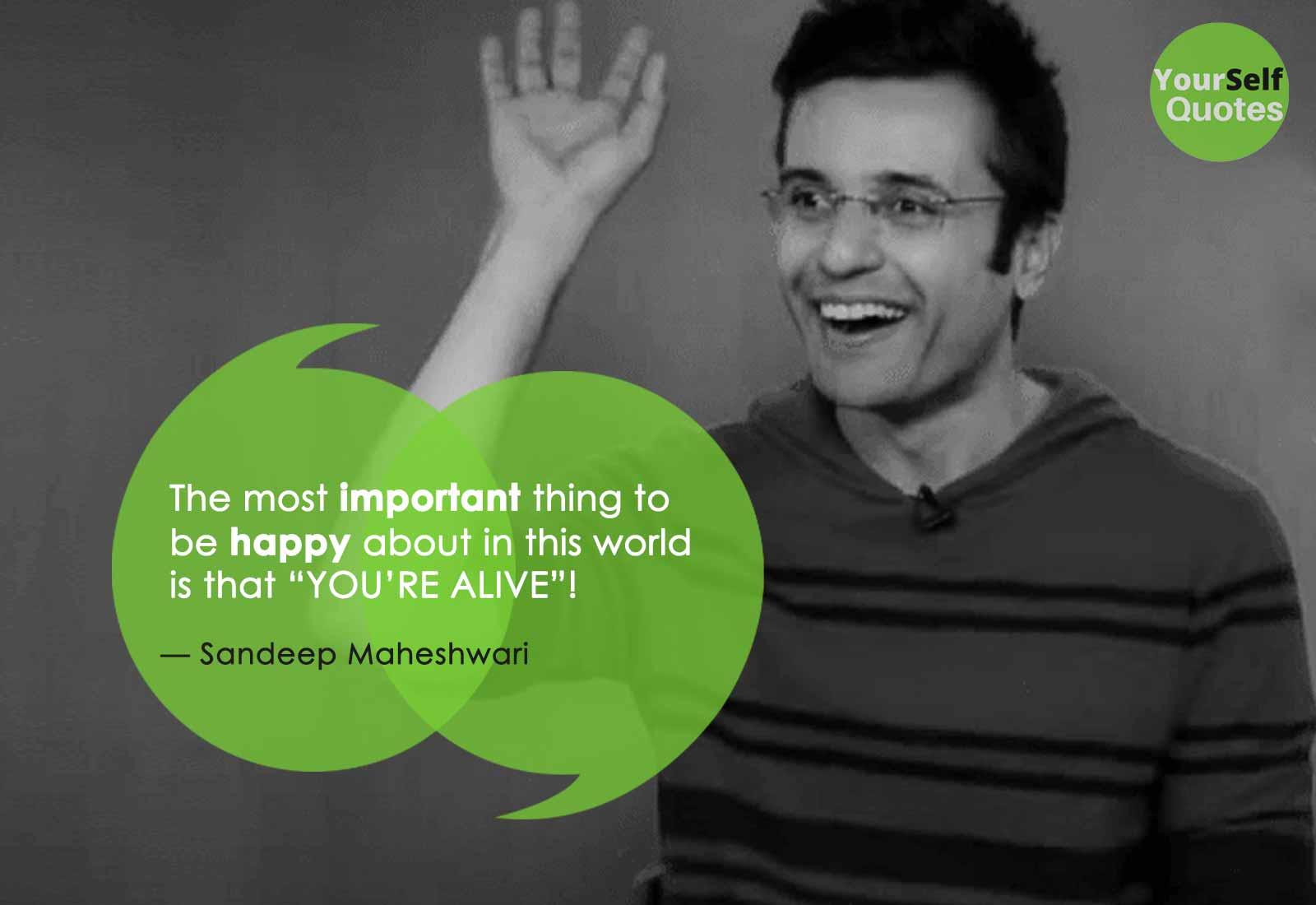 Powerful Sandeep Maheshwari Quotes