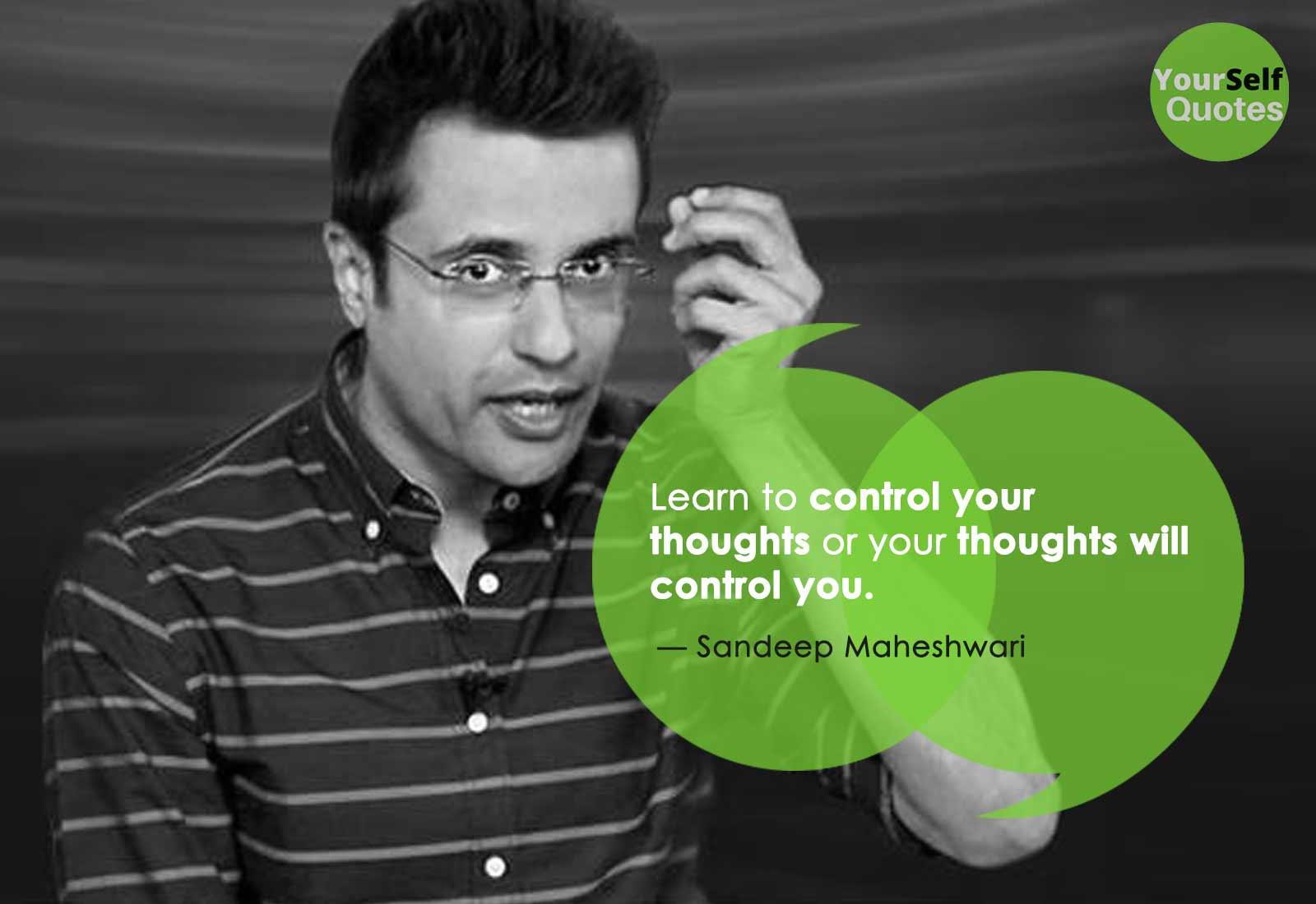 Sandeep Maheshwari Thoughts Quotes