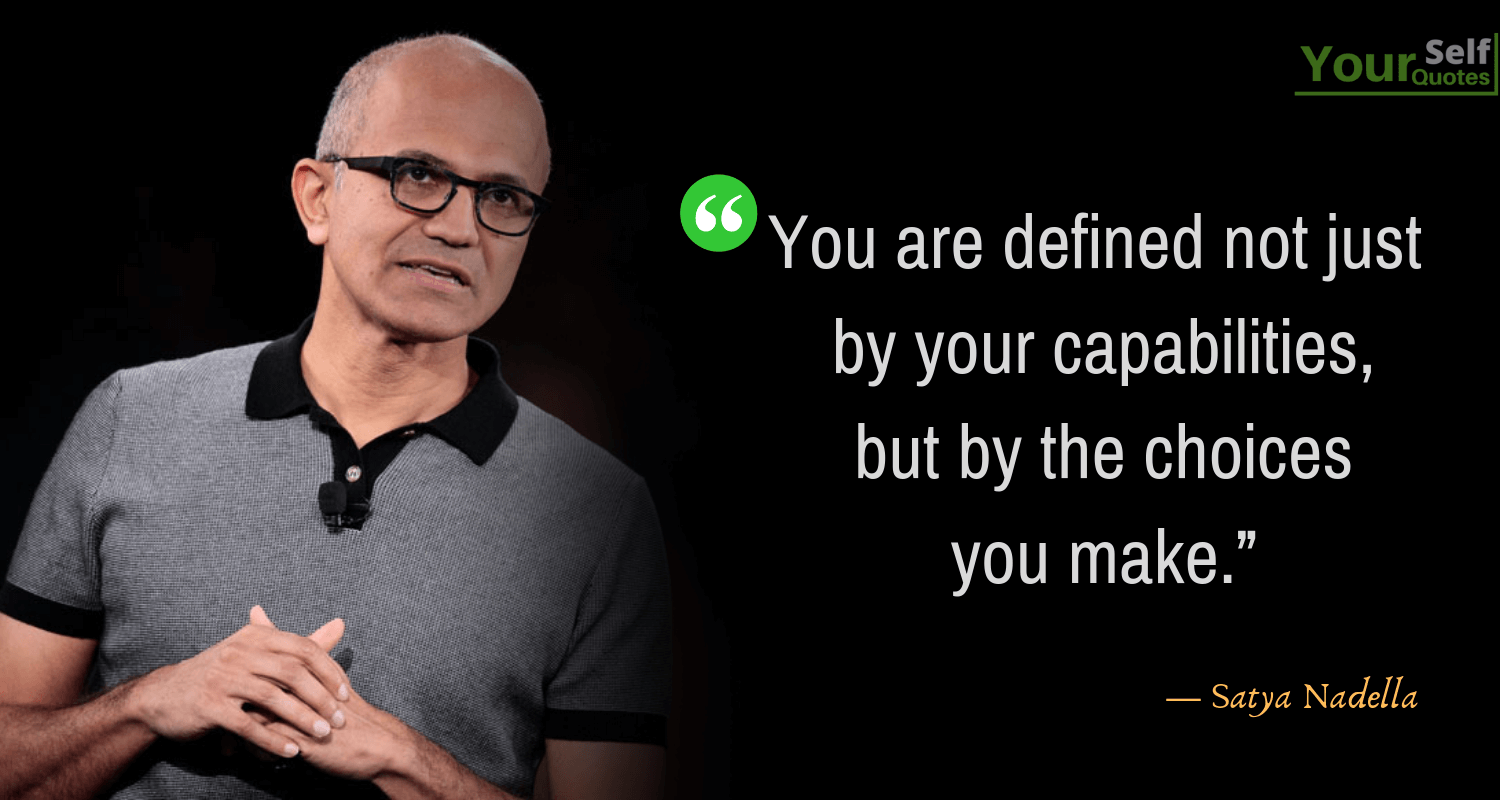 Quotes by Satya Nadella