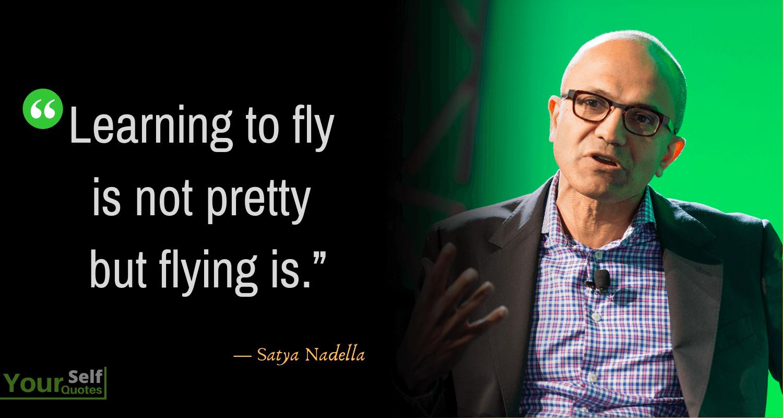 Satya Nadella Learning Quotes