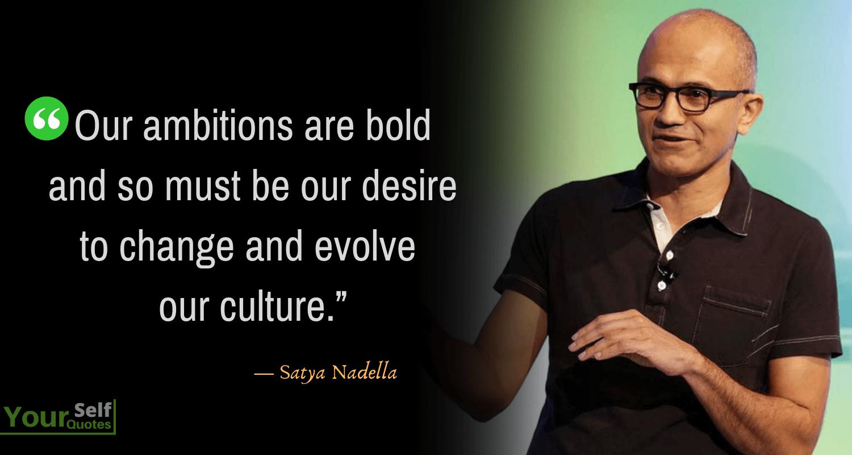Satya Nadella Quotes
