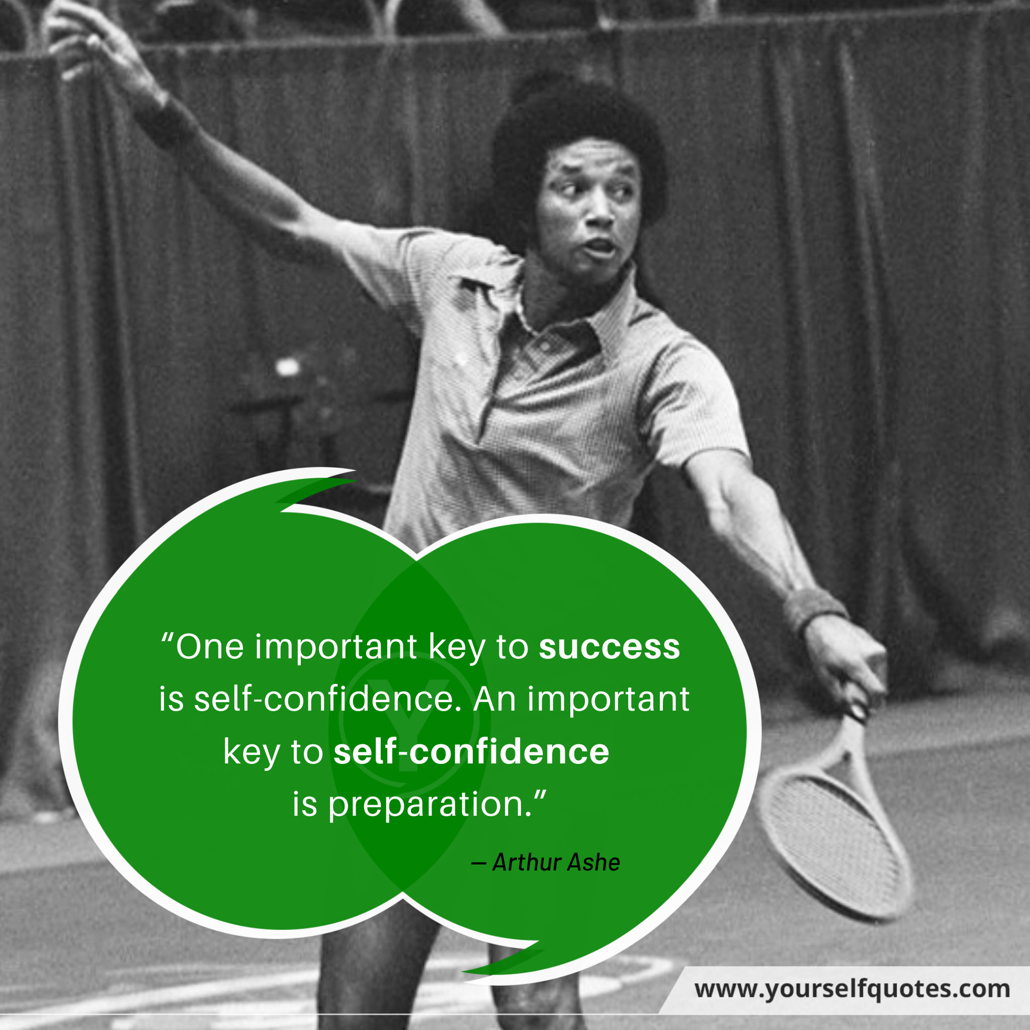 Self Confidence Quotes by Arthur Ashe