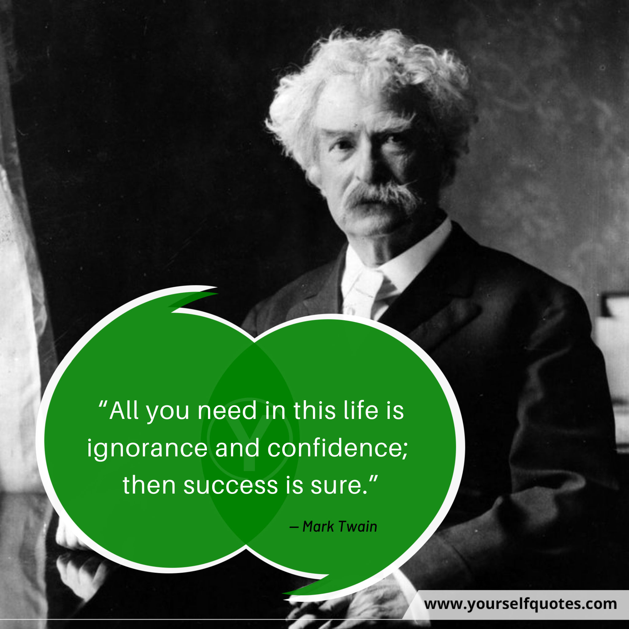 Self Confidence Quotes by Mark Twain