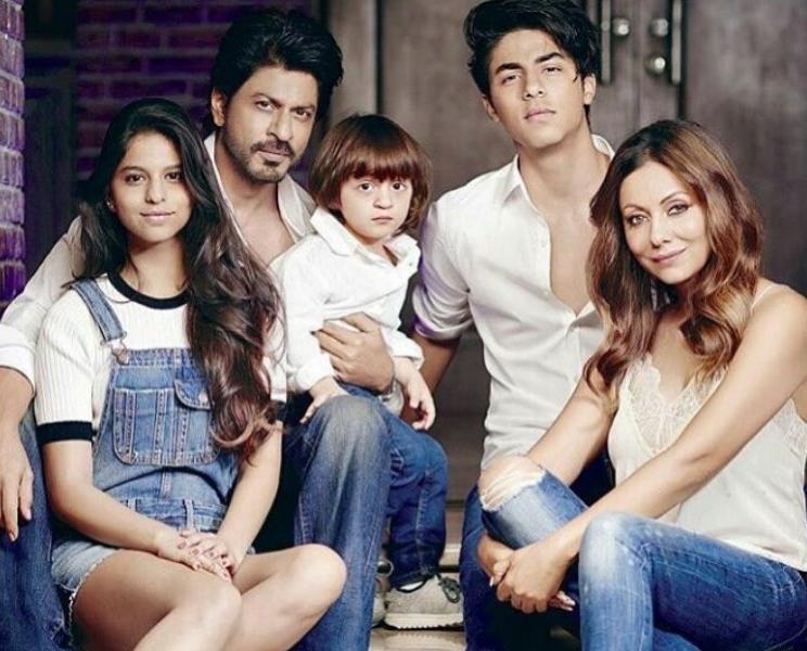 Shahrukh Khan Family Images