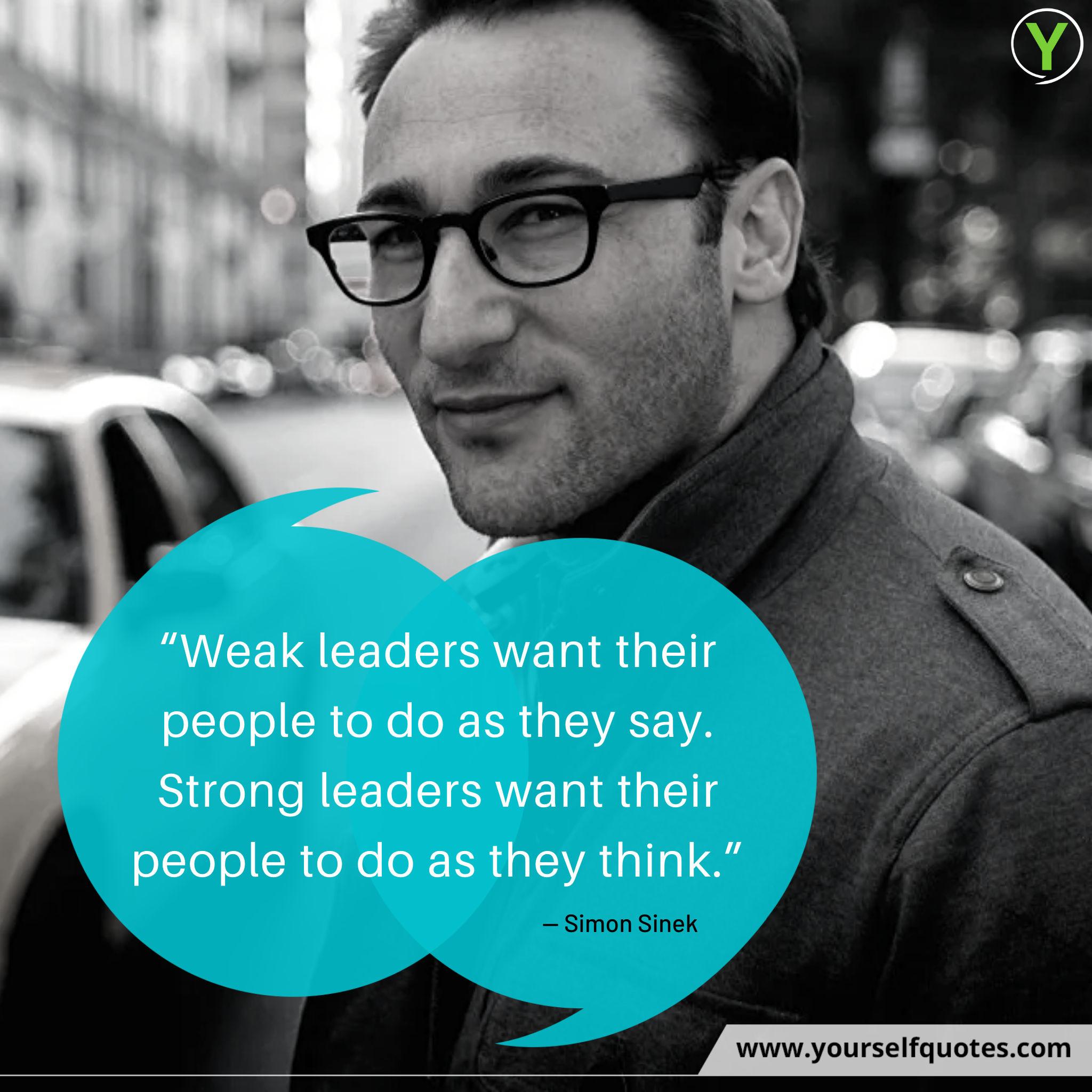 Simon Sinek Quotes Leaders Images