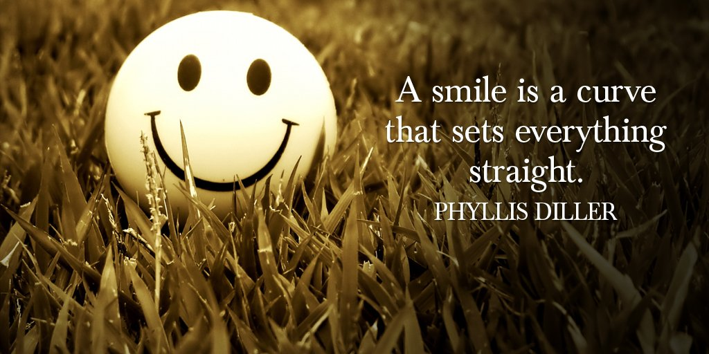Smile Quotes Images by Phyllis Diller