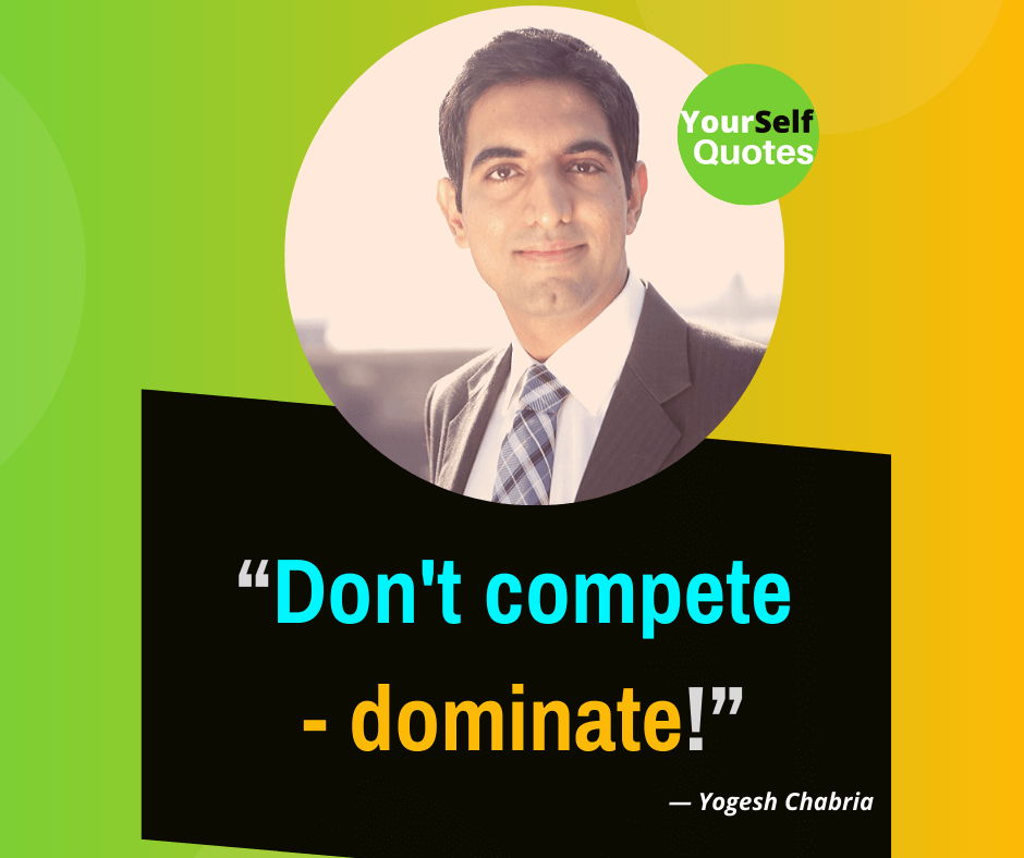 Speakers Yogesh Chabria Quotes Images