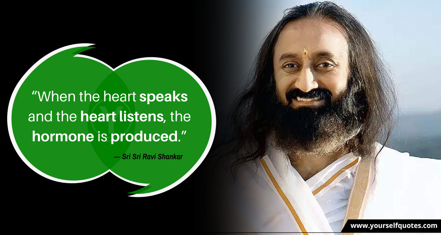 Sri Sri Ravi Shankar Quote Images