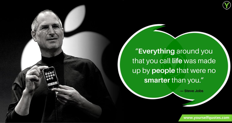Steve Jobs Life Quotes Wallpaper