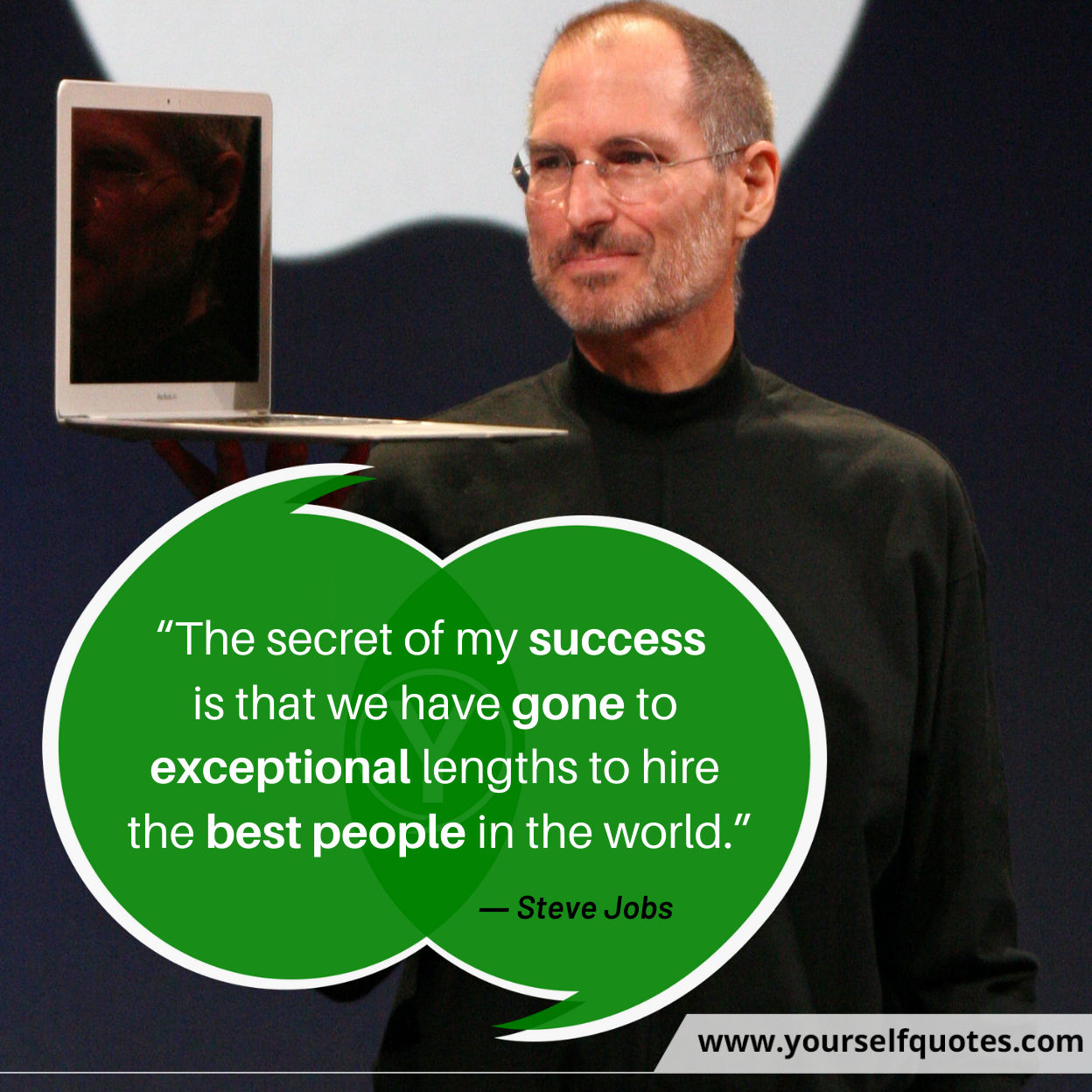 Steve Jobs Quotes on Success Images