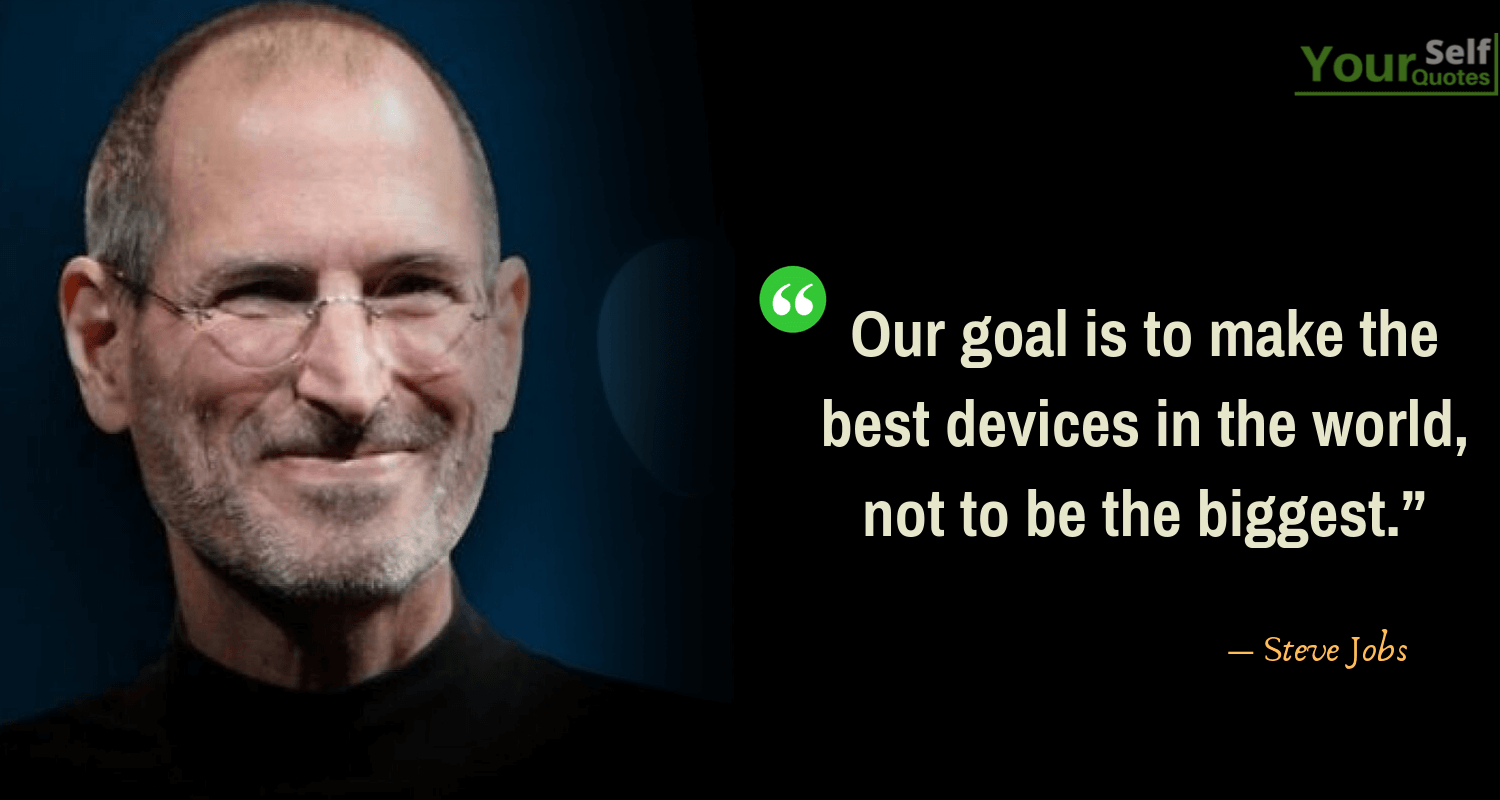 SteveJobs Quotes on Goal