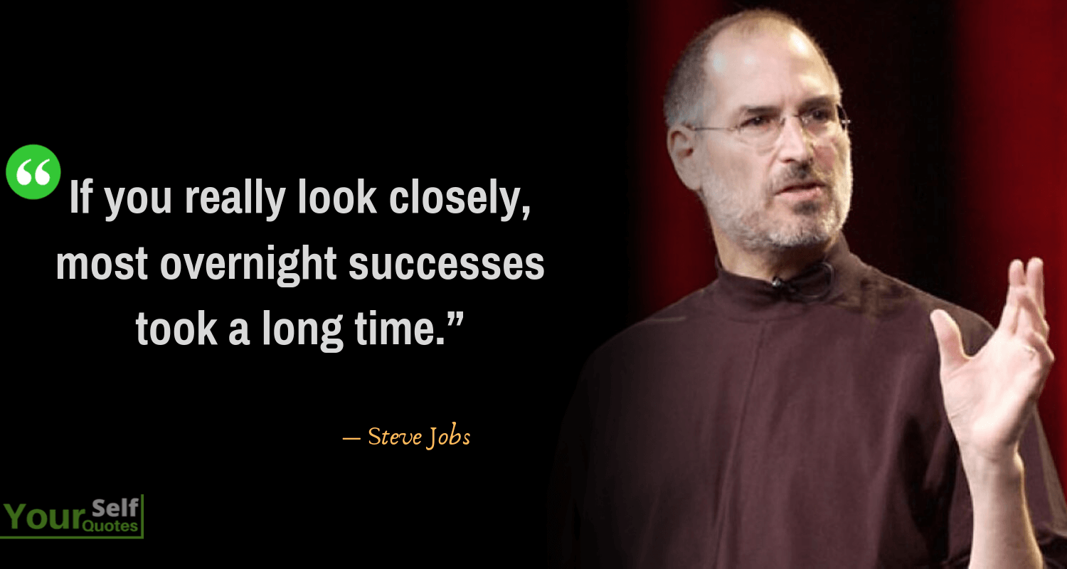 SteveJobs Quotes on successes