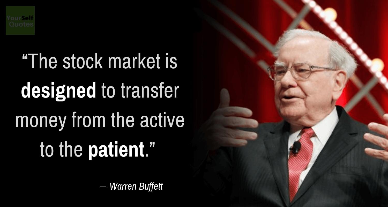 Kutipan Pasar Saham oleh Warren Buffett