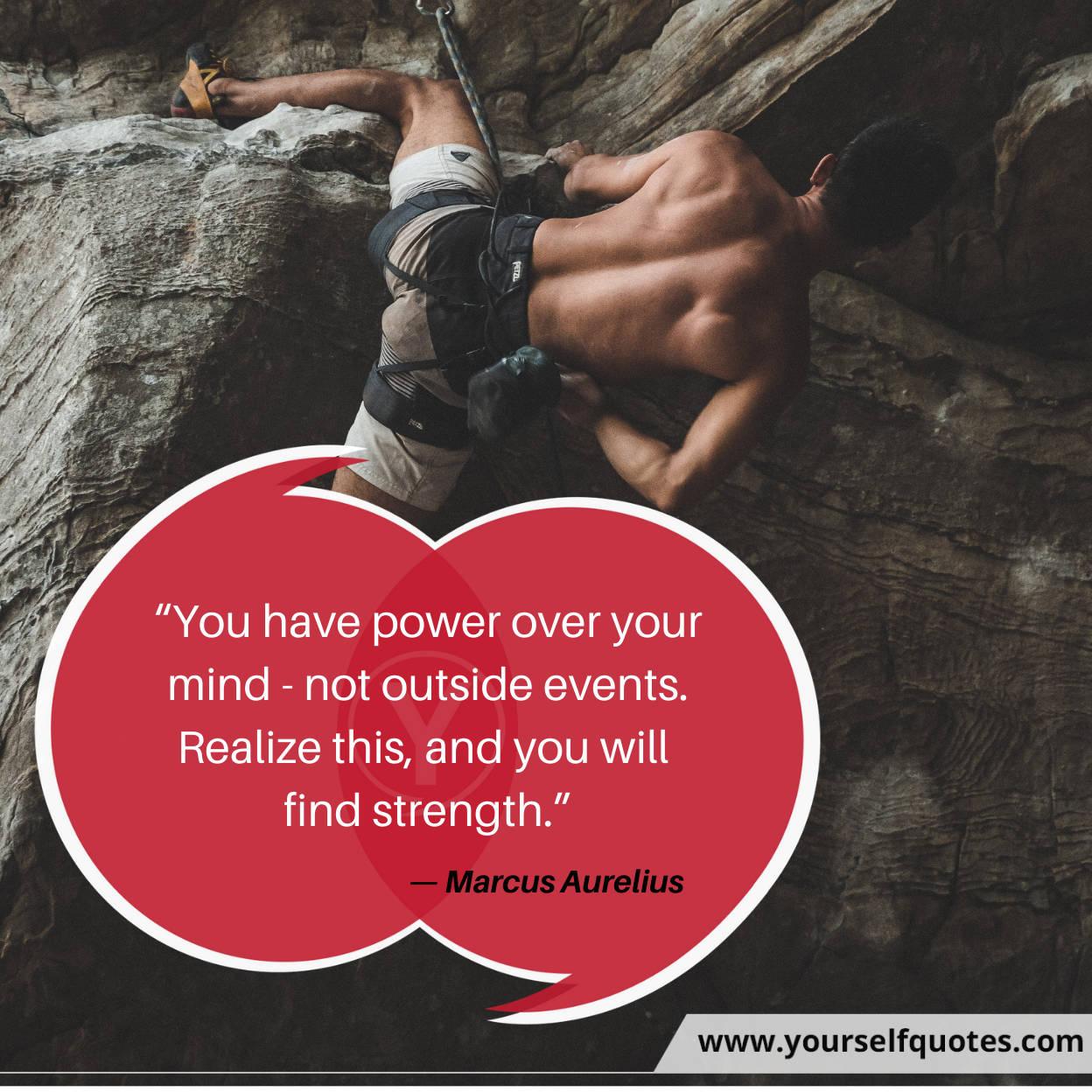 Strength Quotes by Marcus Aurelius
