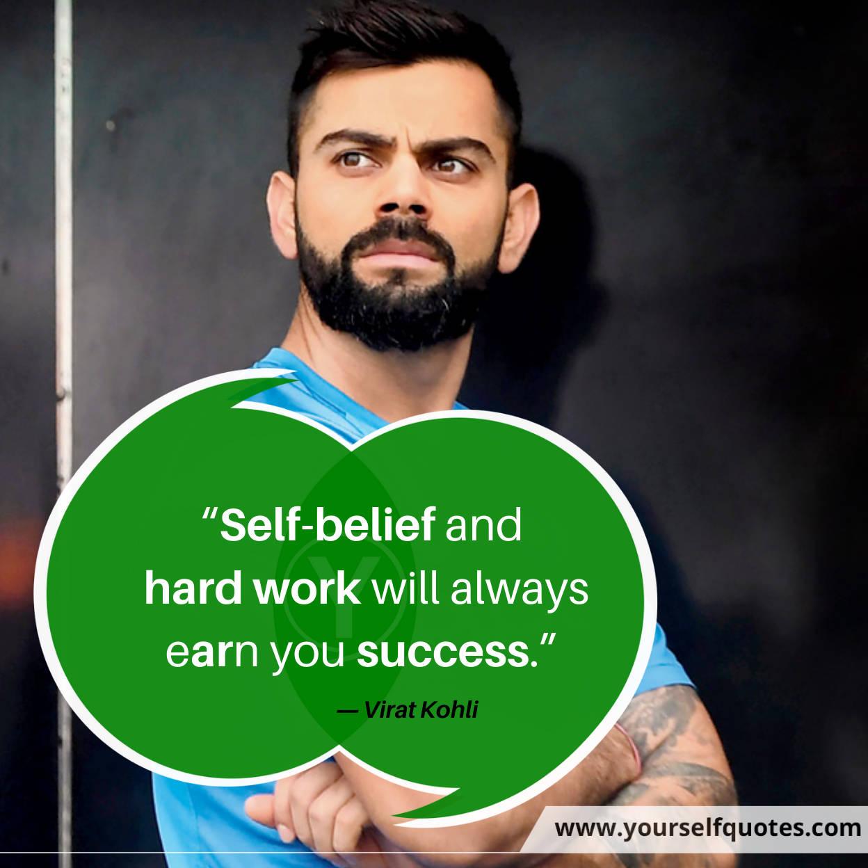 Success Quotes by Virat Kohli