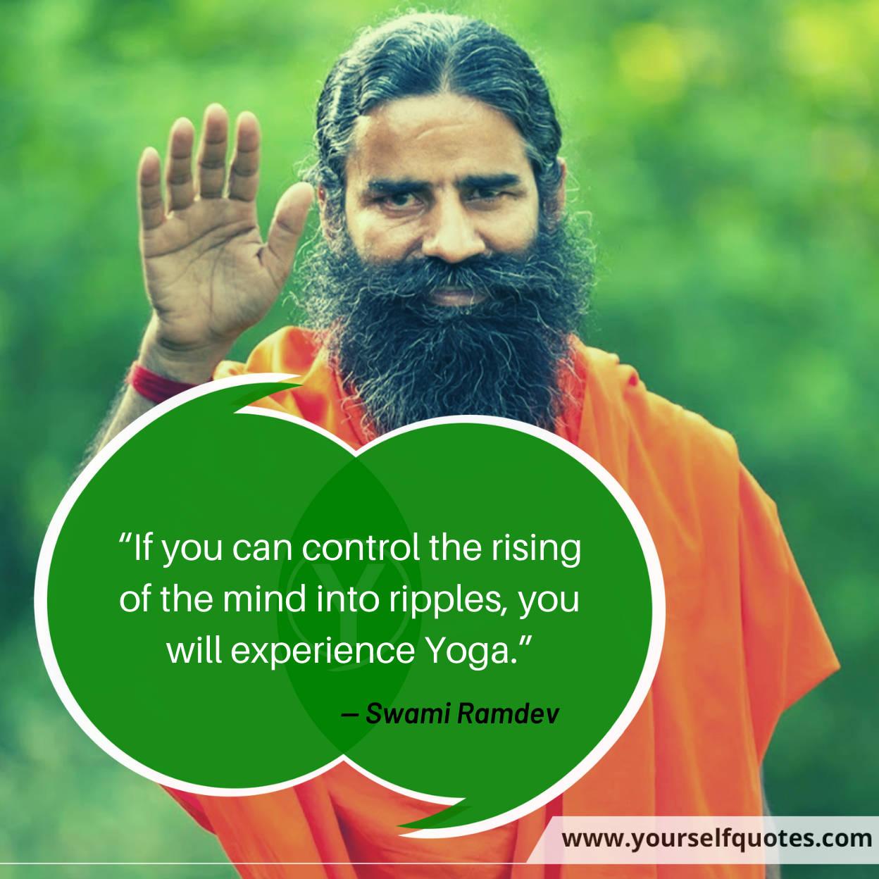 Swami Ramdev Baba Quotes Image