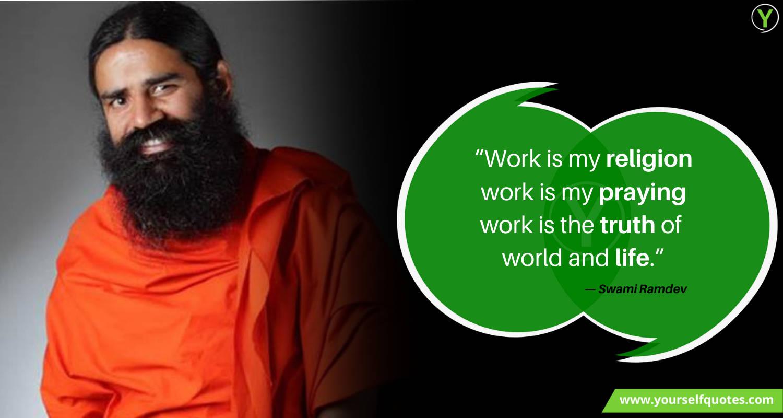 Swami Ramdev Quotes