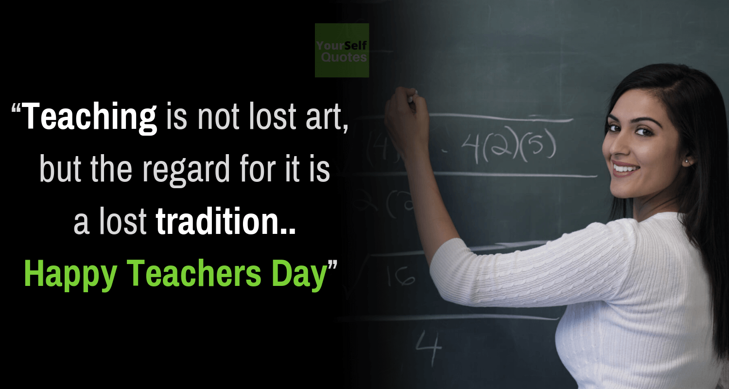 2019 Happy Teacher's Day Quotes, Wishes, Status With Pictures Images