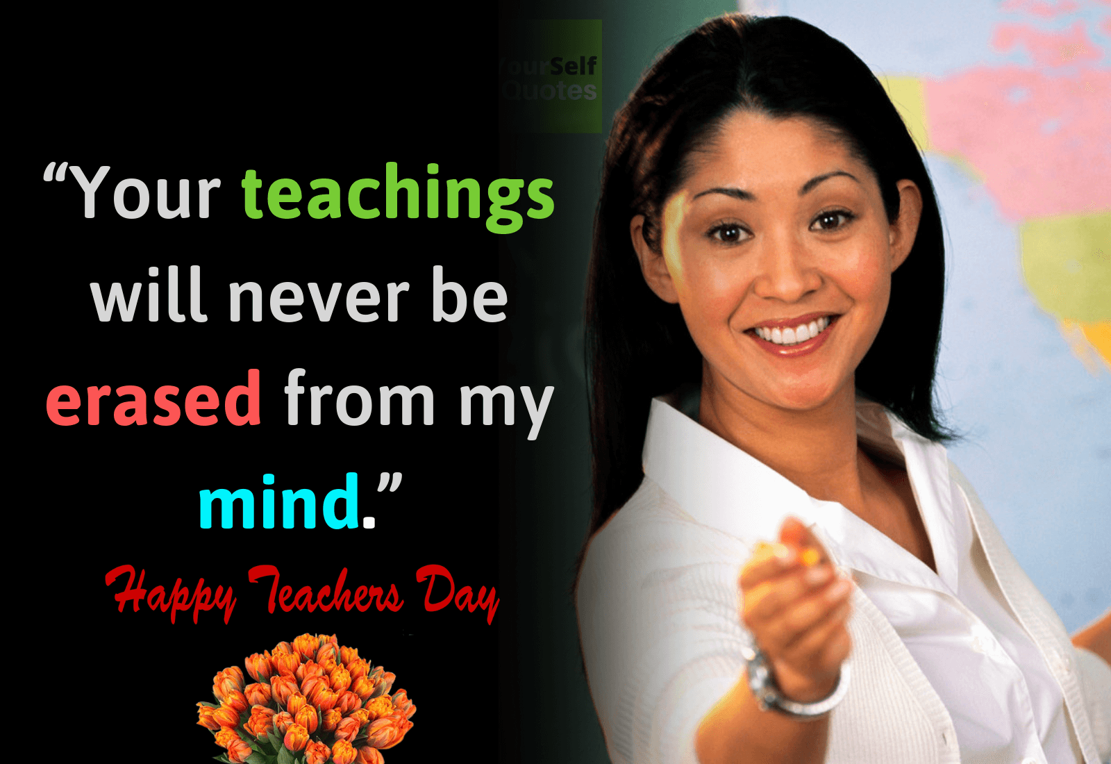 Teachers Day Wallpaper Quote