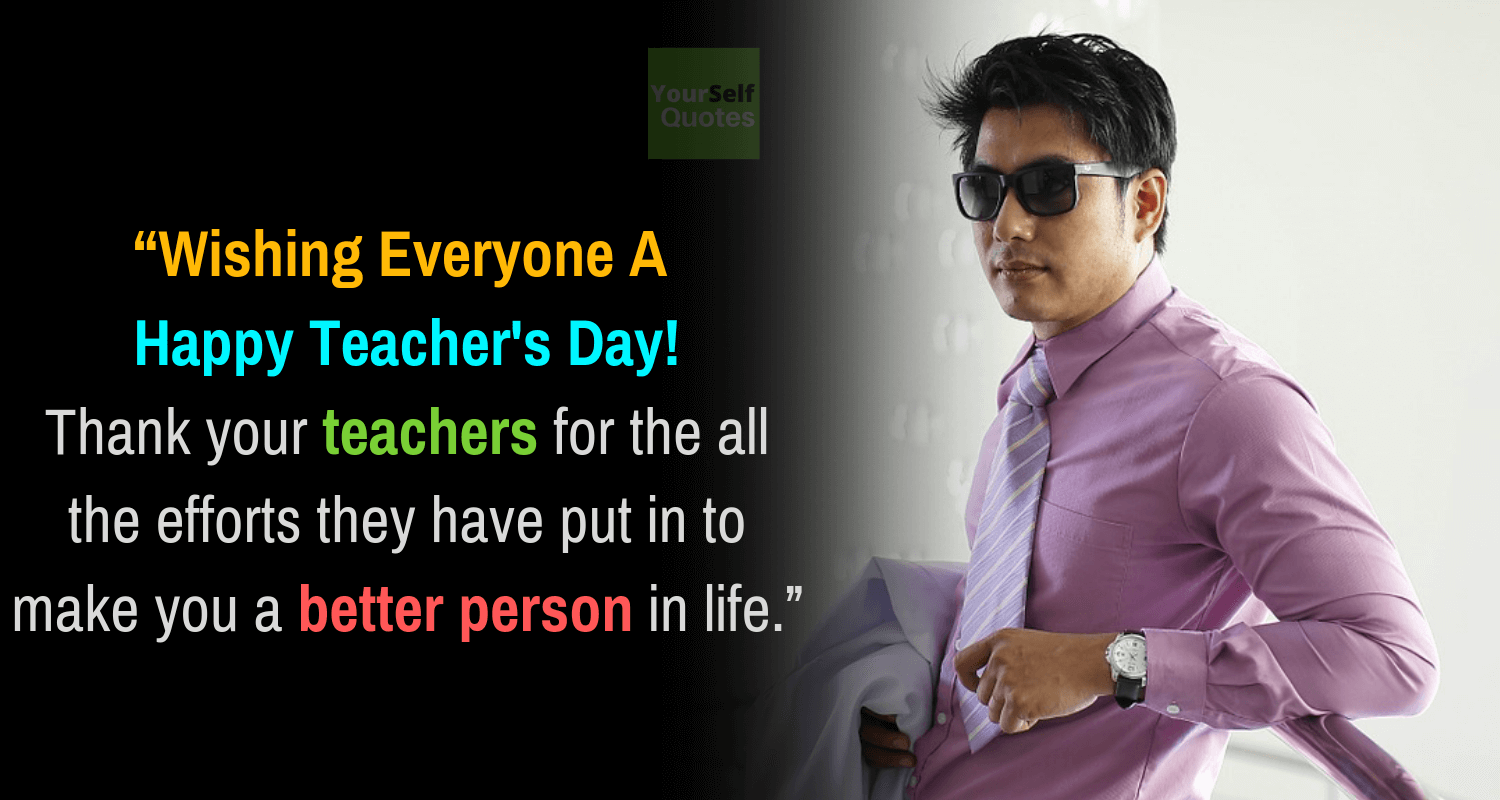 Teachers Day Quote and Wishes