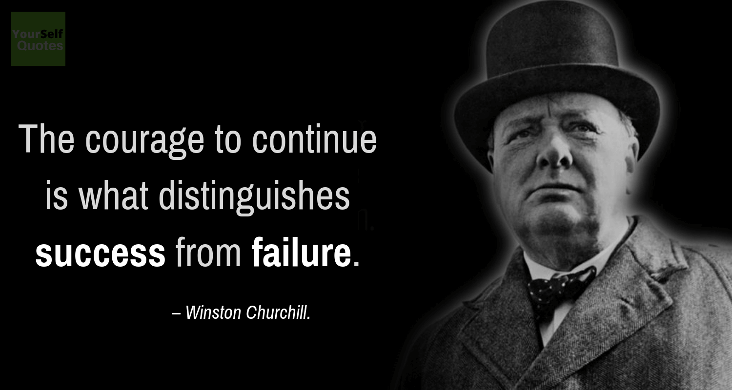 Thought of the Day Quotes by Winston Churchill