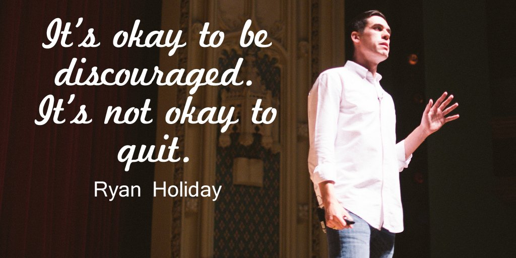 Thoughts of the Day Quotes by Ryan Holiday