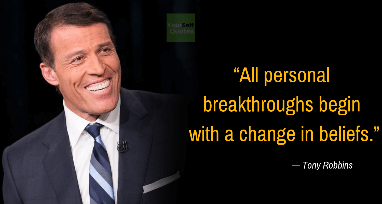 Tony Robbins Best Quote