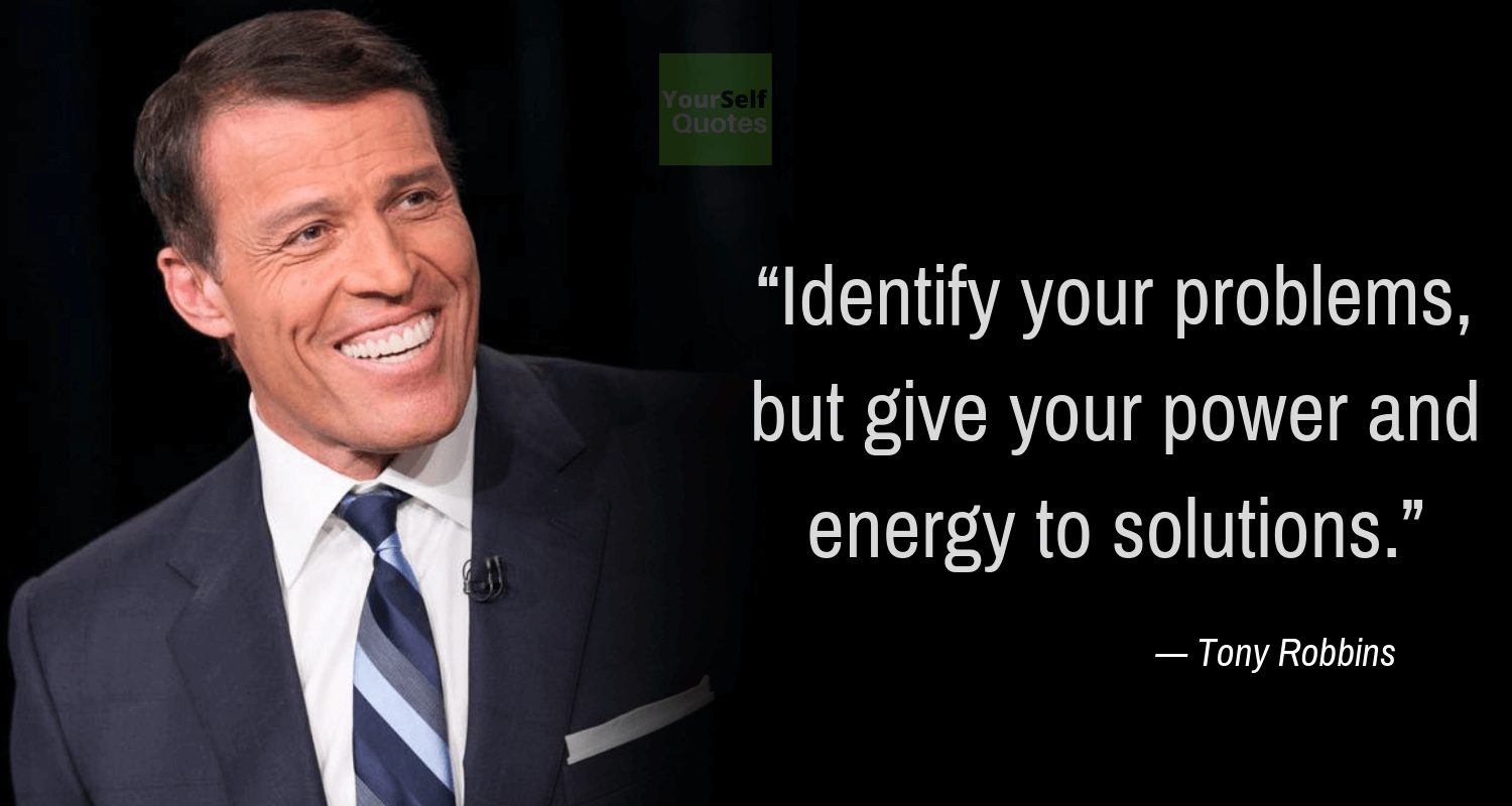 Tony Robbins Quote Thoughts