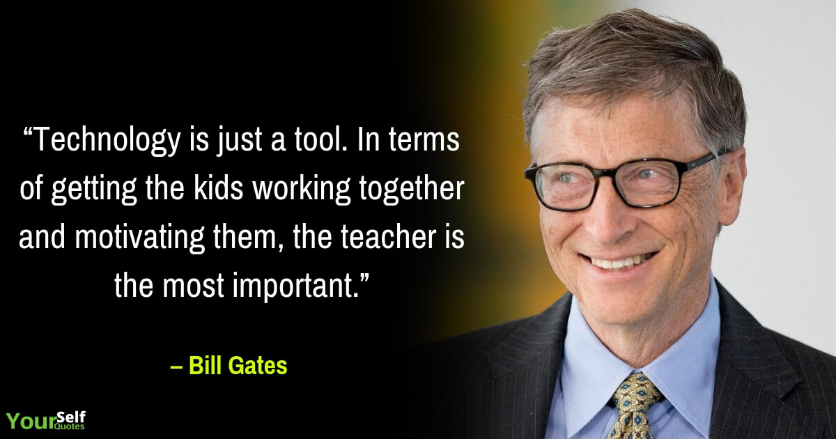 Top Bill Gates Quotes and Thoughts