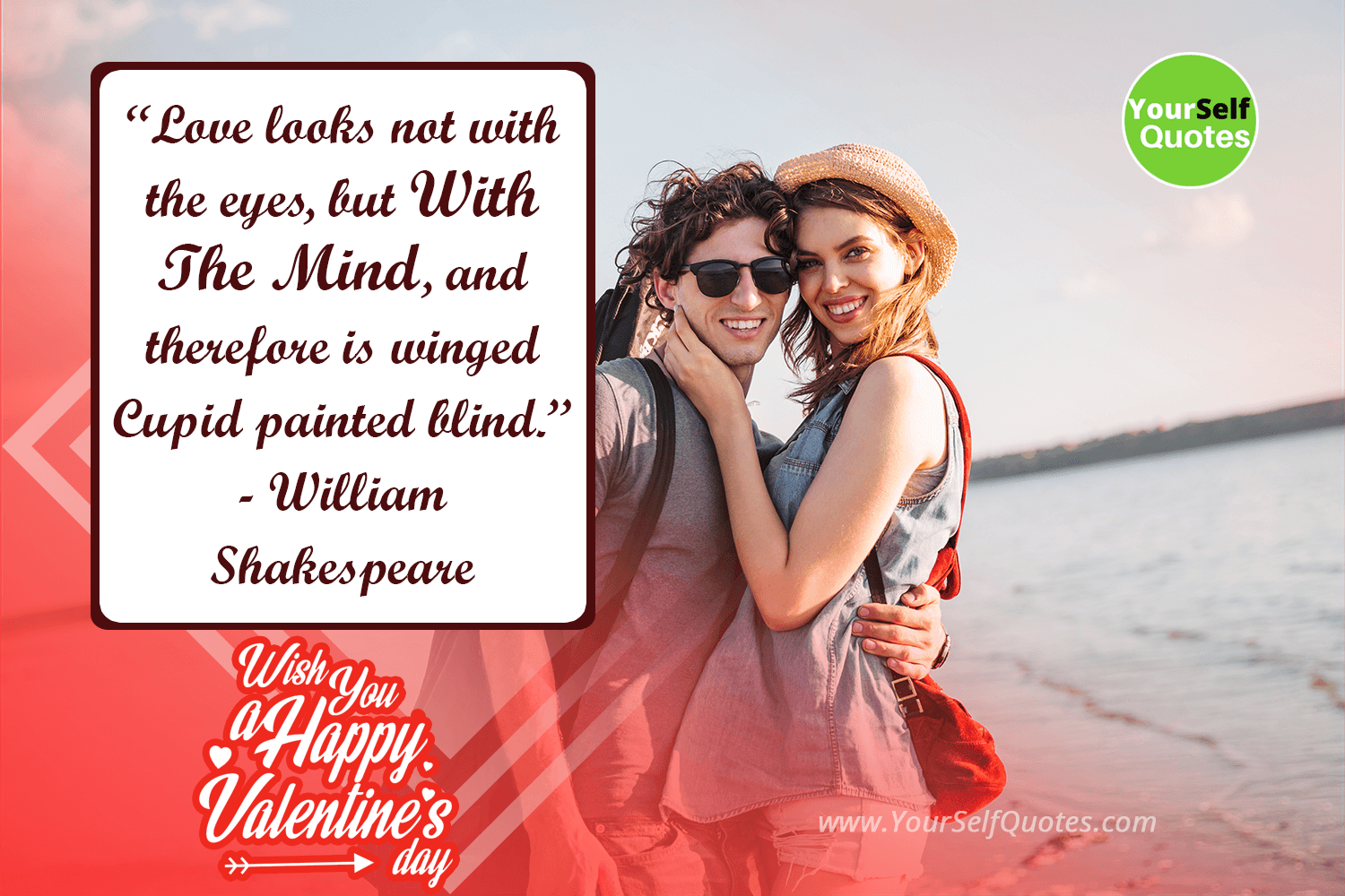 Valentine Day Quotes Images by William Shakespeare