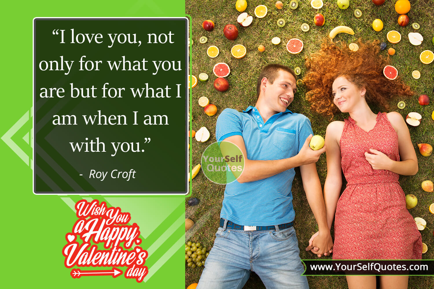 Valentine Day Quotes Photos by Roy Croft