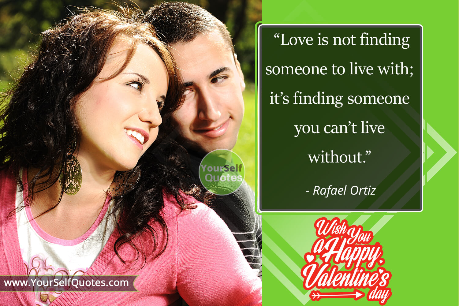 Valentine Day Quotes by Rafael Ortiz