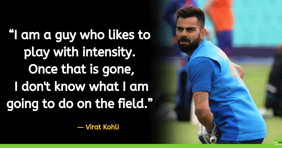 Virat Kohli Images Quote