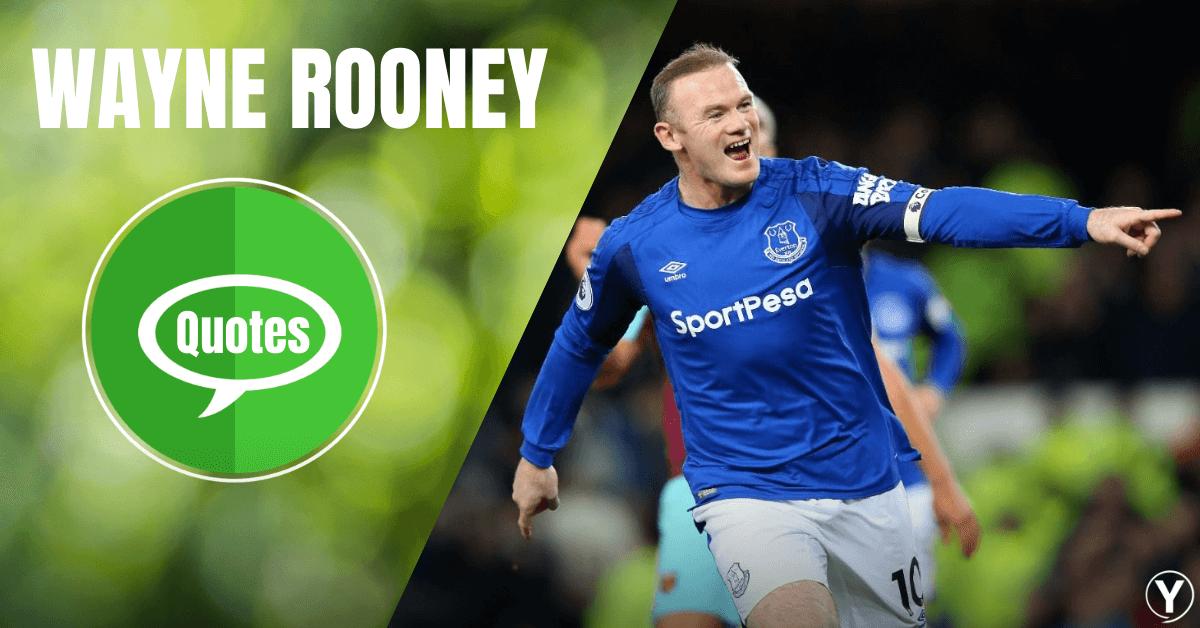 Gambar Wayne Rooney Mengutip