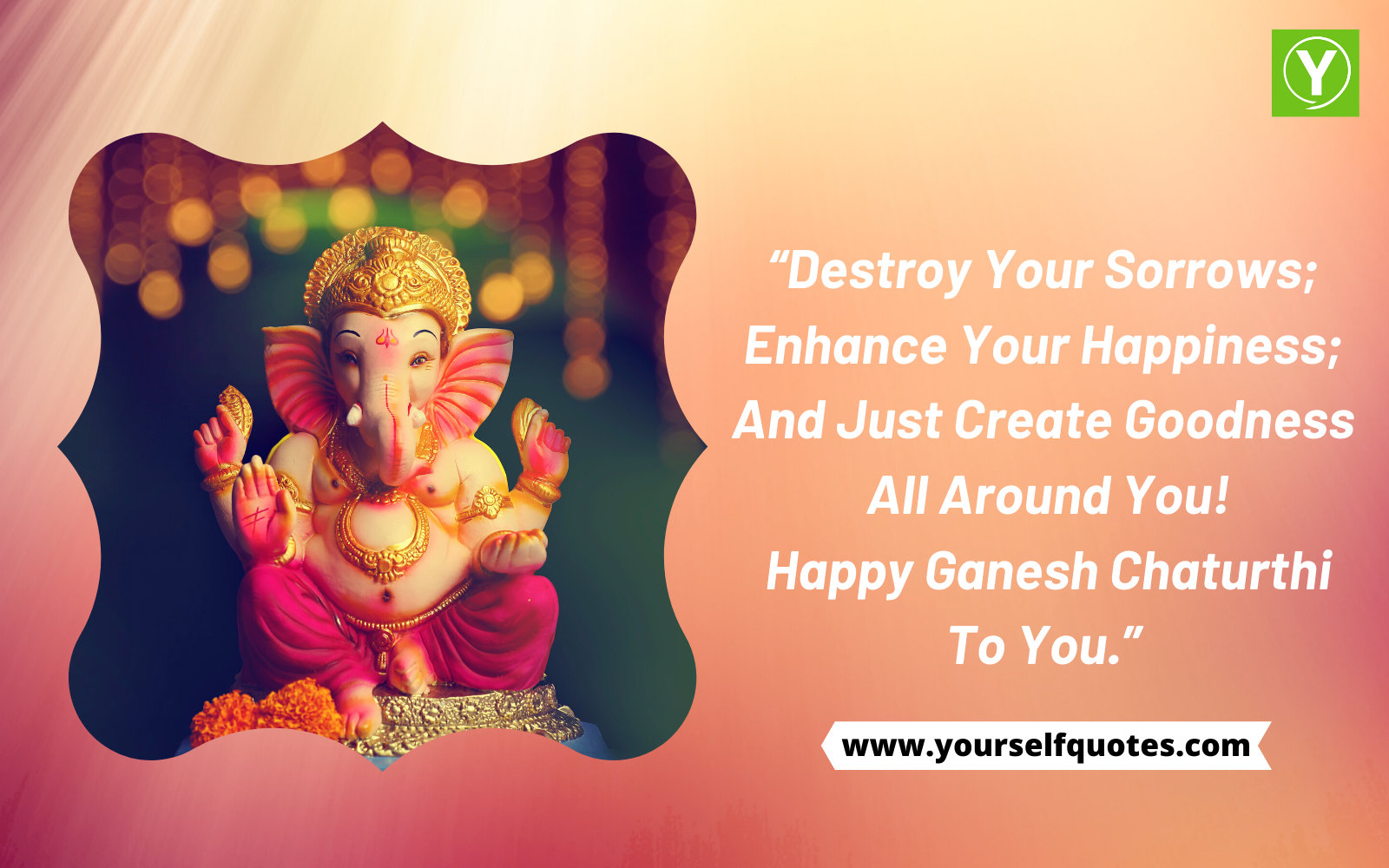 Wish You Happy Ganesh Chaturthi
