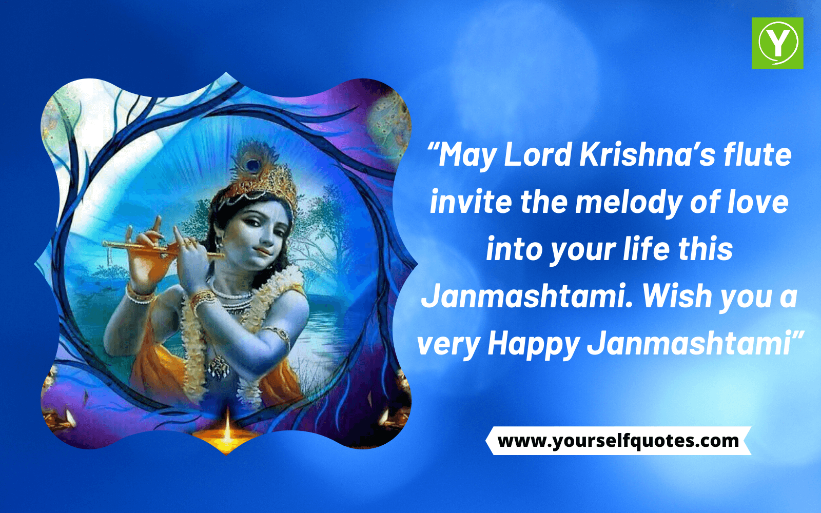 Wish You Happy Janmashtami