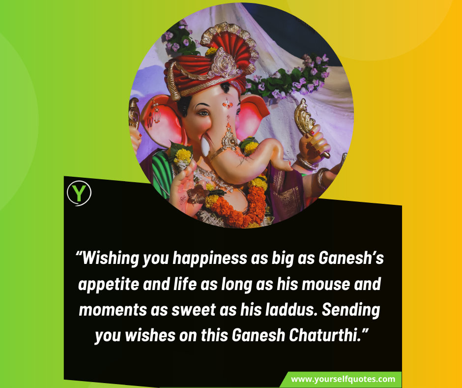 Wishing Quote for Ganesh Chaturthi