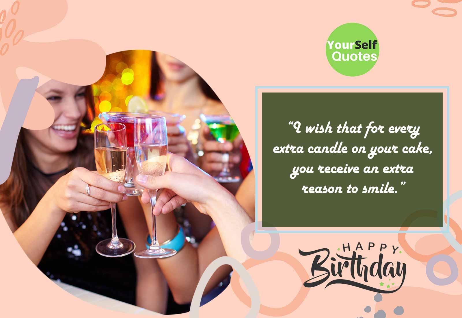 Wishing a Very Happy Birthday You