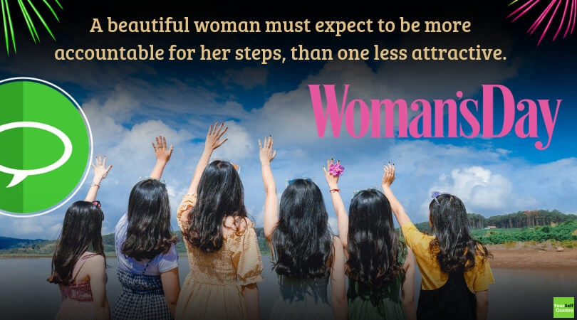 Woman Day Best Quote