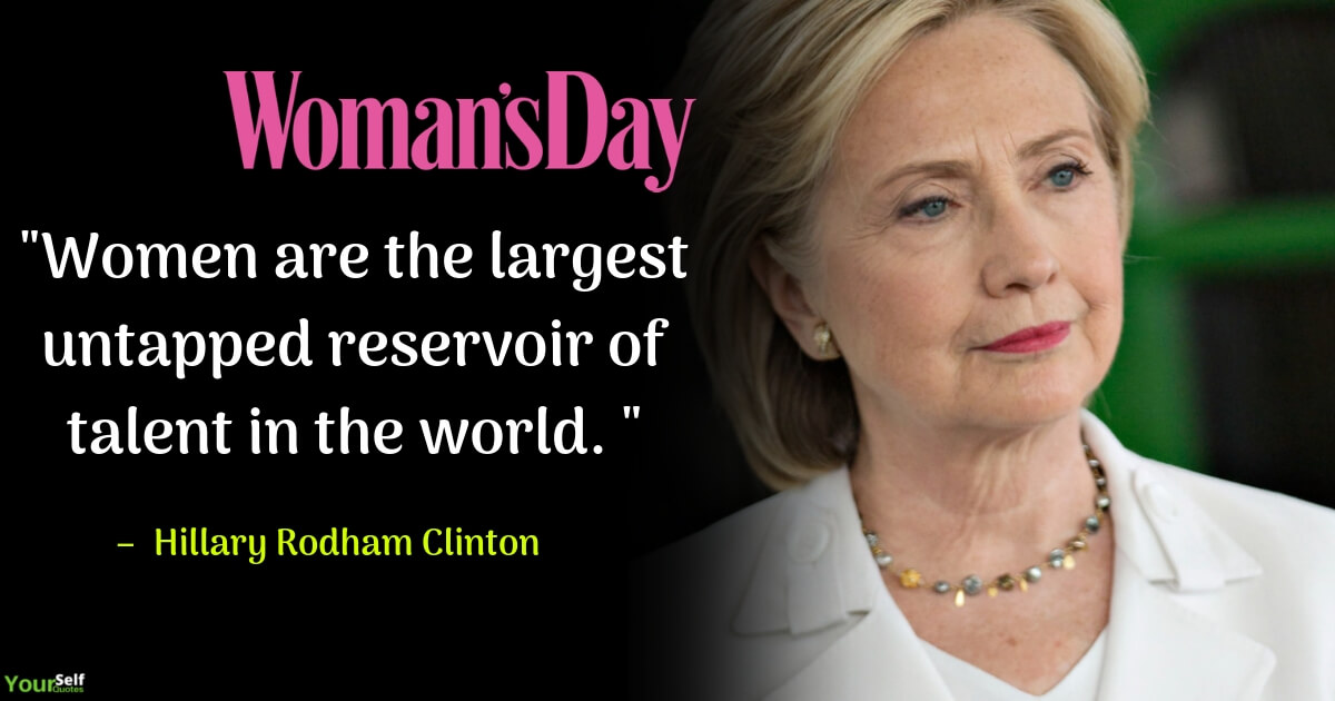 Woman Day by Hillary Rodham Clinton