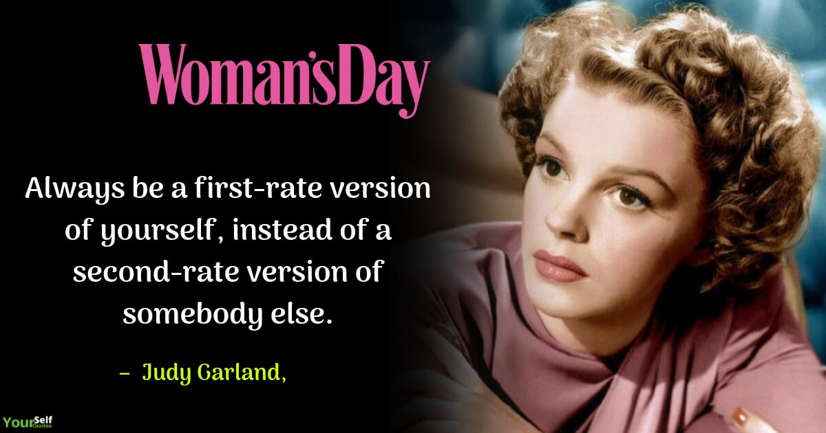 Woman Day by Judy Garland